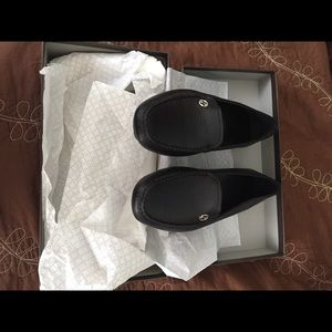 Gucci Shoes - Gucci Women's Leather Loafers Size 10 (US)